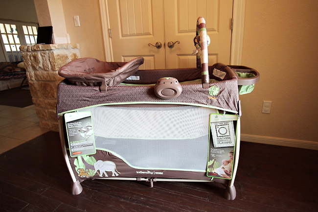 a washable Playard