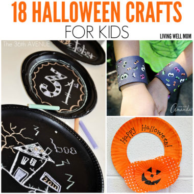 18 Halloween Crafts for Kids