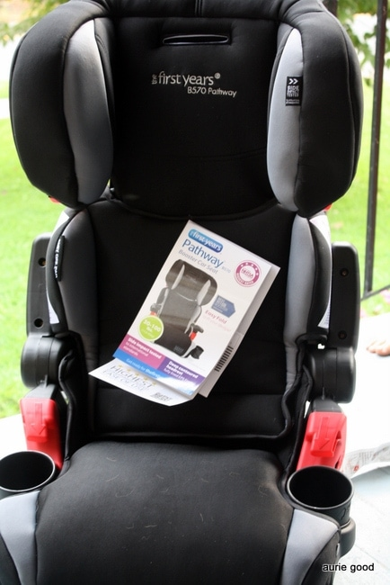 First Years Compass Booster Car Seat