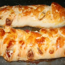 Italian Sausage and Cheese Braid