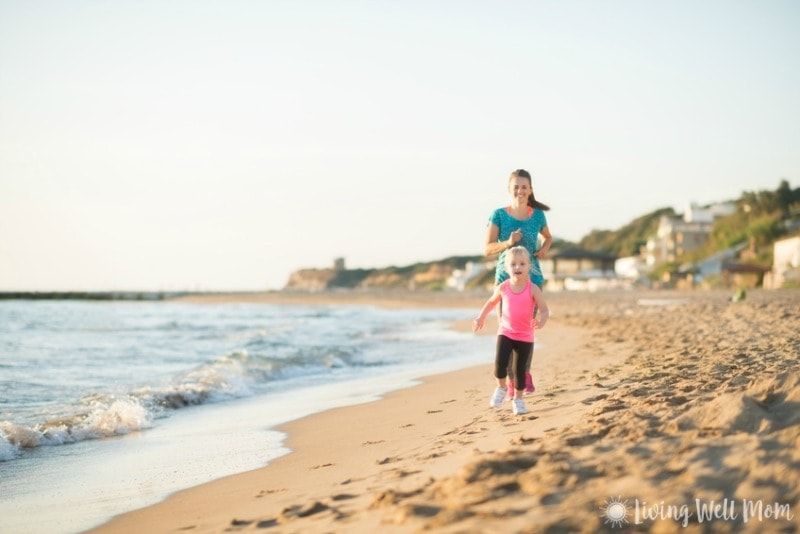 Having a tough time fitting exercise into your daily routine? Here's a few simple realistic fitness tips for moms that will inspire you! Easy, reasonable, and not time-consuming, you'll be getting fit before you know it!