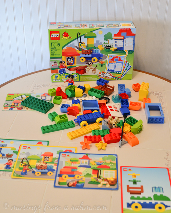 Creative Play with LEGO DUPLO Plus a Sweepstakes! - Living Well Mom