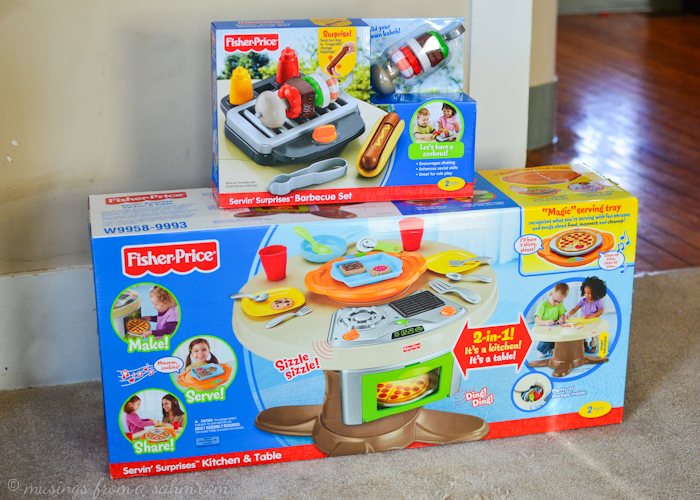 Fisher Price Servin Surprises Kitchen Amp Table Living
