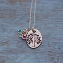 "Something About Silver ""Family Tree"" Necklace"
