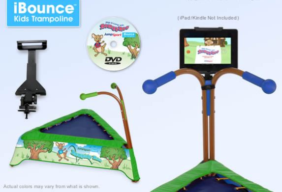 Holiday Gift Guide: JumpSport iBounce Kids Trampoline ...