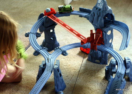 Thomas Friends Trackmaster Risky Rails Bridge Drop Living Well Mom