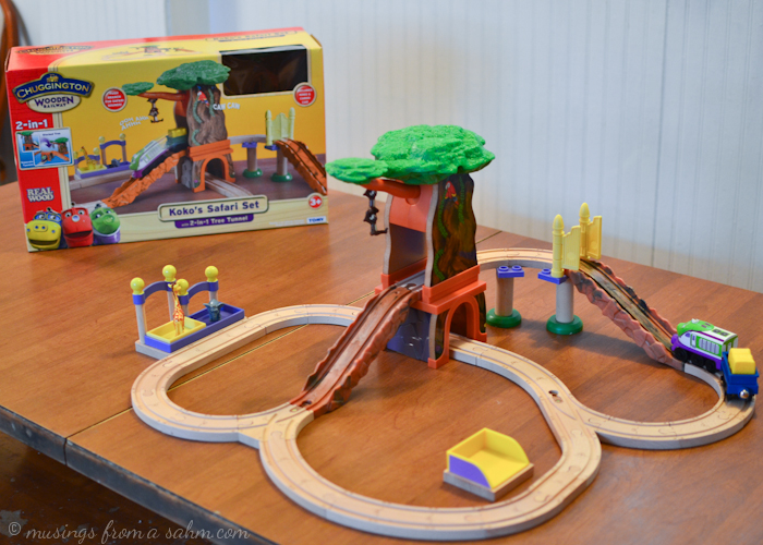 Holiday Gift Guide: Chuggington Wooden Railway Koko\'s Safari Set ...