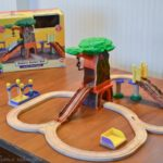 Holiday Gift Guide: Chuggington Wooden Railway Koko's Safari Set