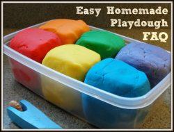 Easy Homemade Playdough FAQ