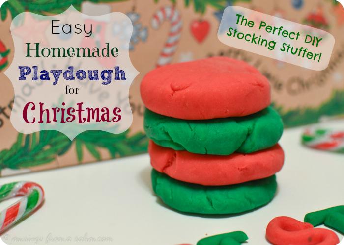 Homemade Playdough Christmas 2
