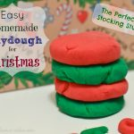 Homemade Playdough for Christmas Recipe – DIY Stocking Stuffer