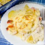 The Best Scalloped Potatoes and Ham Recipe