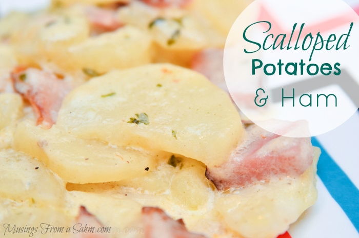 Scalloped Potatoes and Ham recipe