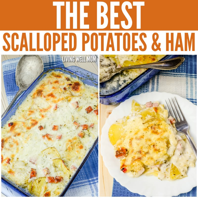 With tasty chunks of ham, sliced potatoes, and a flavorful creamy sauce, this time-tested family recipe for Scalloped Potatoes and Ham is truly the best!