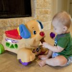 Fisher Price Laugh & Learn Stride-to-Ride Puppy {Giveaway}