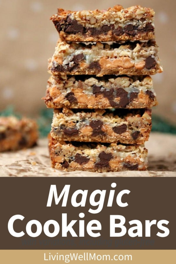 magic cookie bars collection of photos