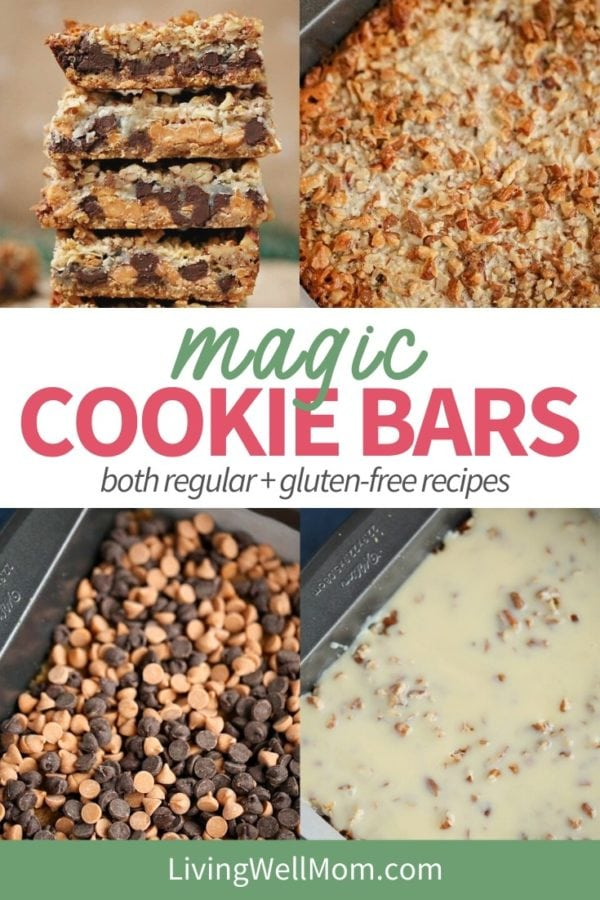 collection of photos - magic cookie bars recipe
