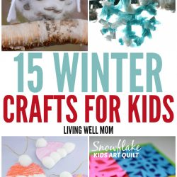 15 fun winter crafts for kids that will keep everyone entertained during the break.