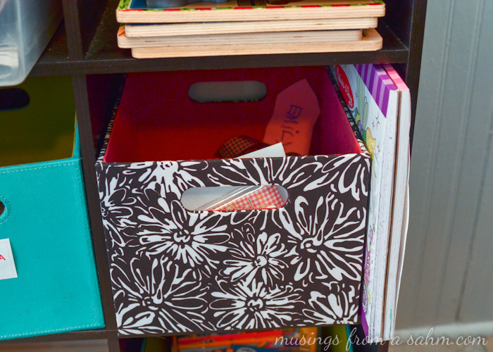 Organizing Kids Crafts Supplies and Things - Living Well Mom