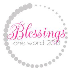 OneWord2013_Blessings250