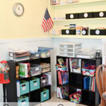 Organizing Our Homeschool Area
