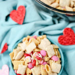No-Bake Valentine's Day Chex Mix