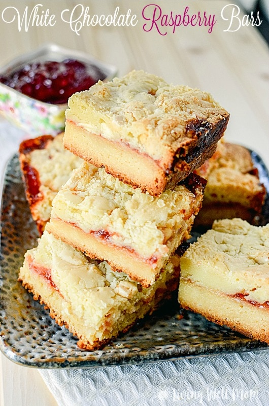 White Chocolate Raspberry Bars recipe