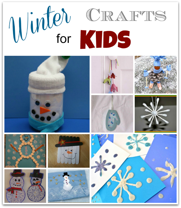 10 winter crafts for kids musings from a stay at home mom for Winter crafts for children
