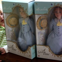 Introducing Amelia, A Girl for All Time Doll
