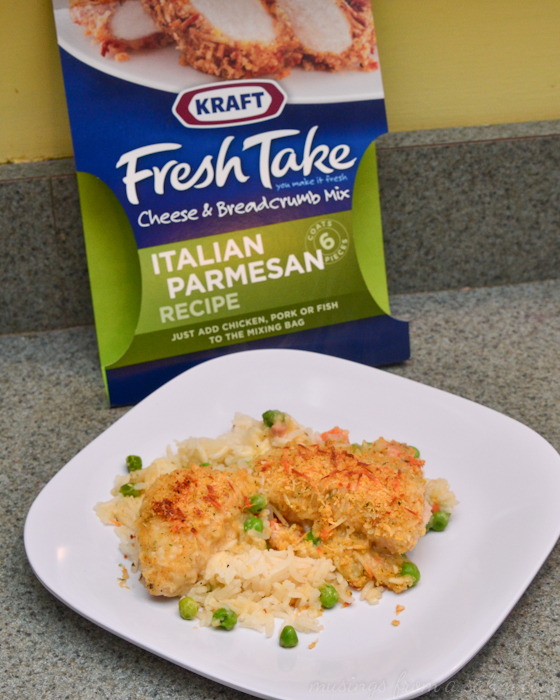 Italian parmesan chicken rice recipe with kraft fresh take kraft fresh take italian parmesan recipe forumfinder Gallery