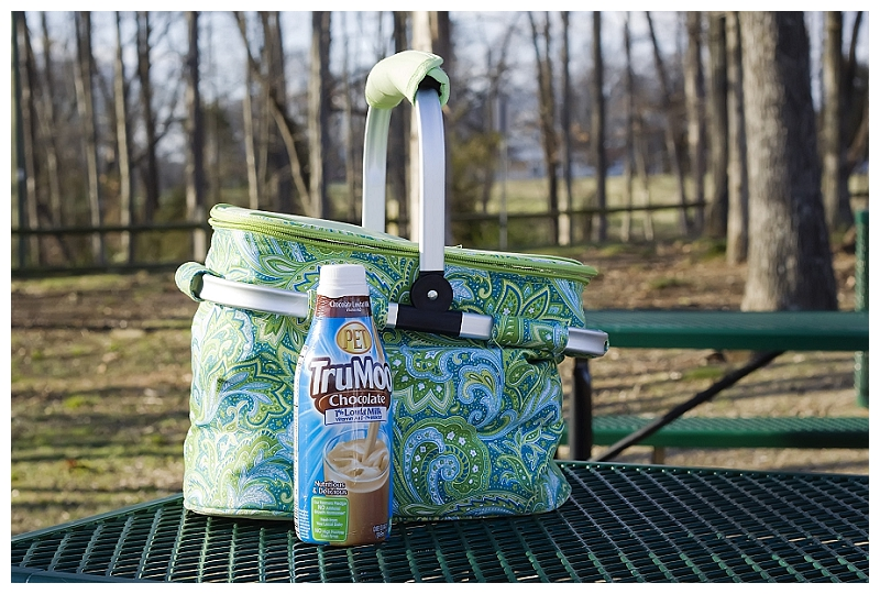 TruMoo Milk on a picnic