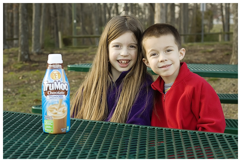 TruMoo at the park