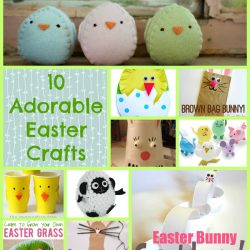 10 Adorable Easter Crafts
