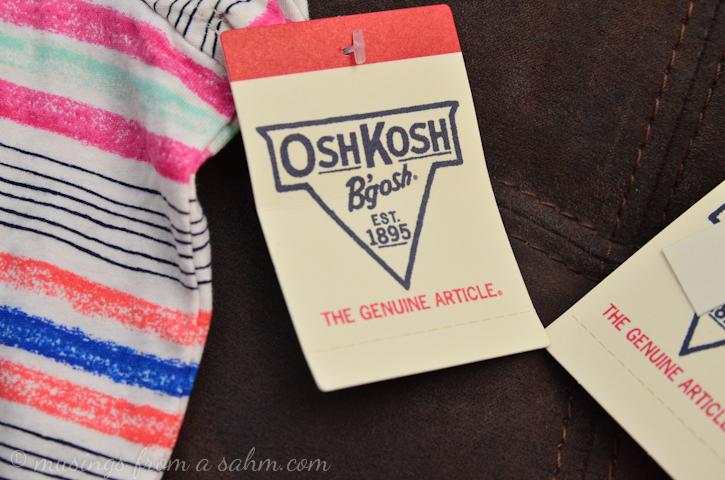 OshKosh tag