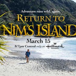 Return to Nim's Island on Hallmark {Giveaway}
