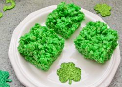 St Patrick's Day Lime Rice Krispies Treats