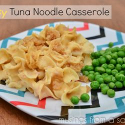 Cheesy Tuna Noodle Casserole Recipe with Velveeta Cheese
