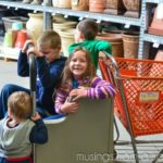 Our Family Trip to The Home Depot For Our Spring #DigIn Project