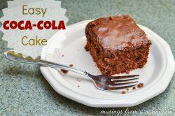 Easy Coca-Cola Cake