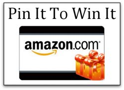 April Pin It To Win It – $25 Amazon Gift Card Giveaway