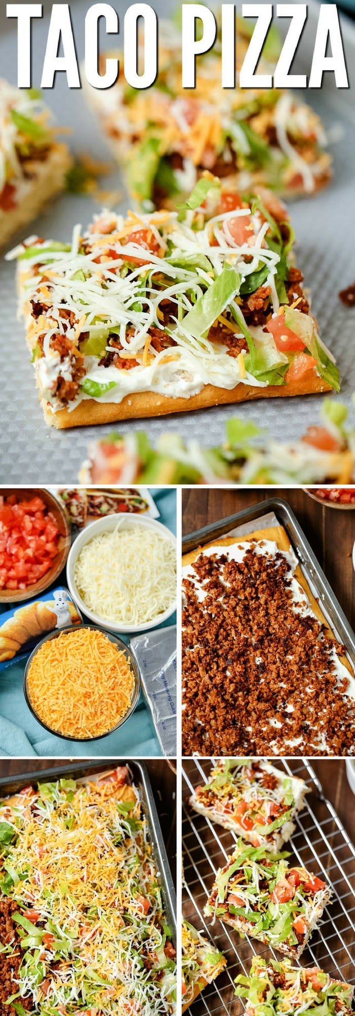 best taco pizza recipe