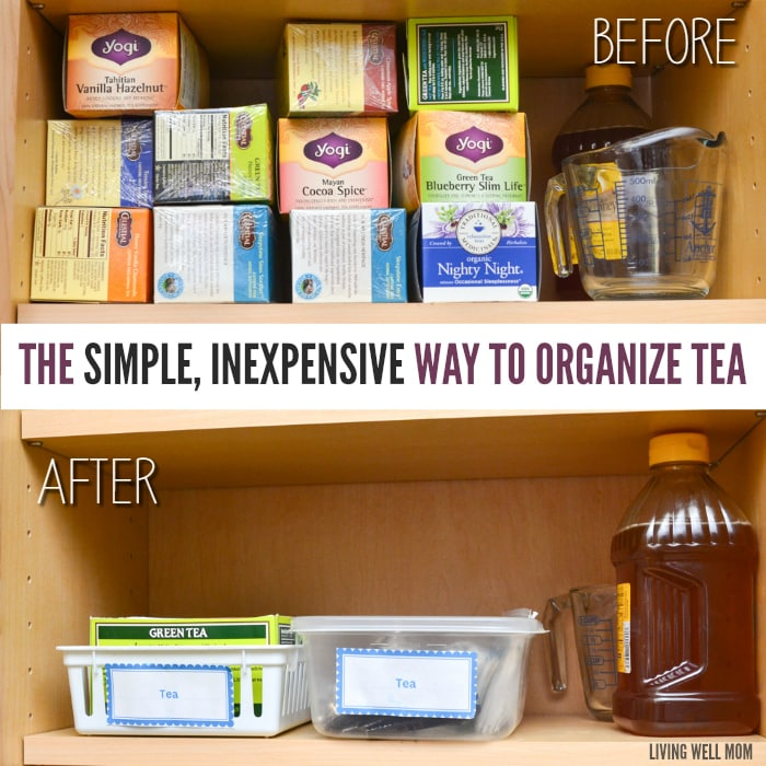 The Simple, Inexpensive Way to Organize Tea