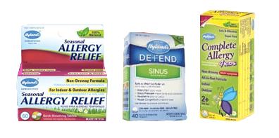 hylands allergy