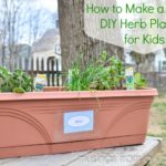 Simple DIY Herb Planters for Kids