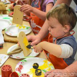 DIY for Kids at The Home Depot Kids Workshop #DigIn