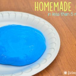 Homemade Gak Recipe in Less than 5 Minutes