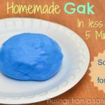 Homemade Gak