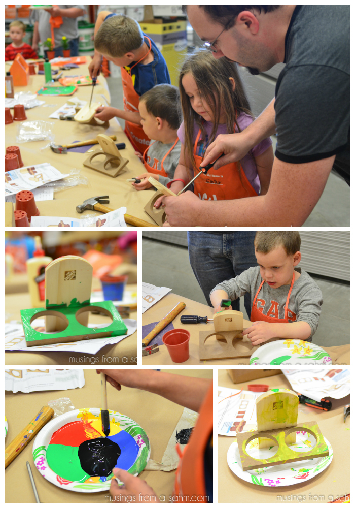 Kids Home Depot Workshop
