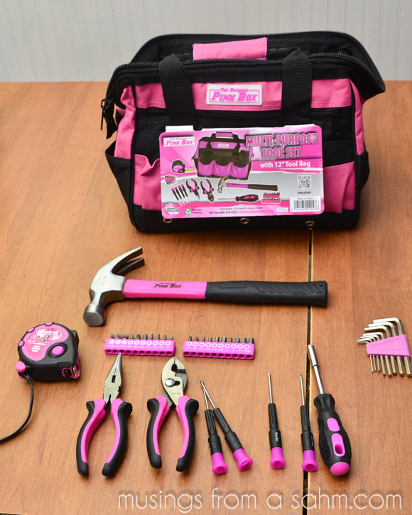 Original Pink Box tools