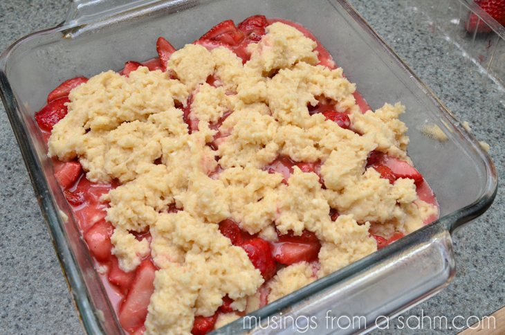 Strawberry Coffee Cake - Living Well Mom